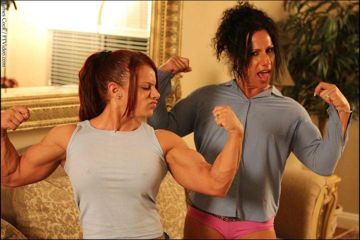 Mz devious Annie Rivieccio Biceps