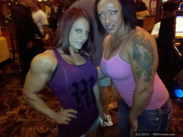 Danni and Muscle Marie