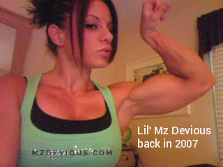 mz devious flexing