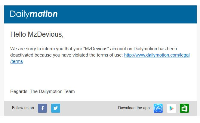 mz devious daily motion channel